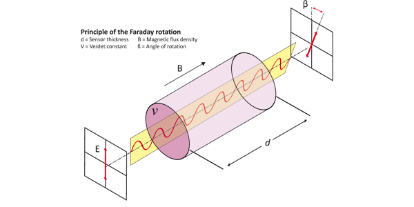 Basic physical principle of the Faraday rotation