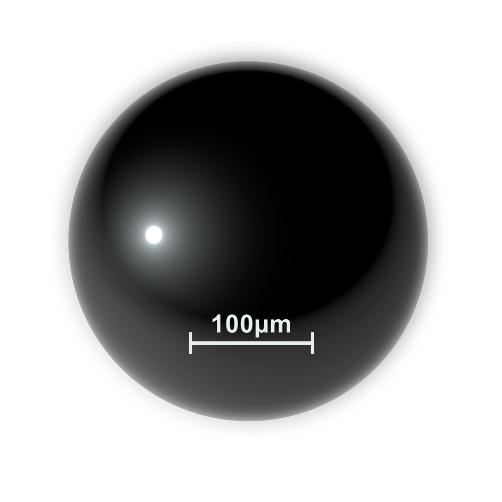 Optically polished sphere